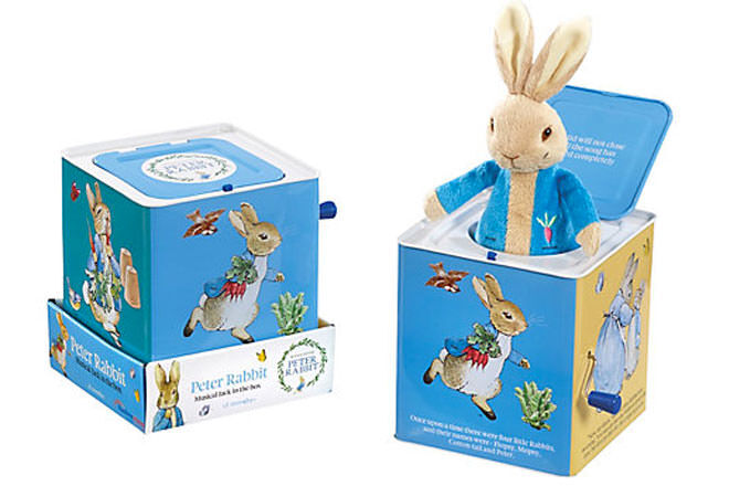 Beatrix Potter Jack-in-the-box