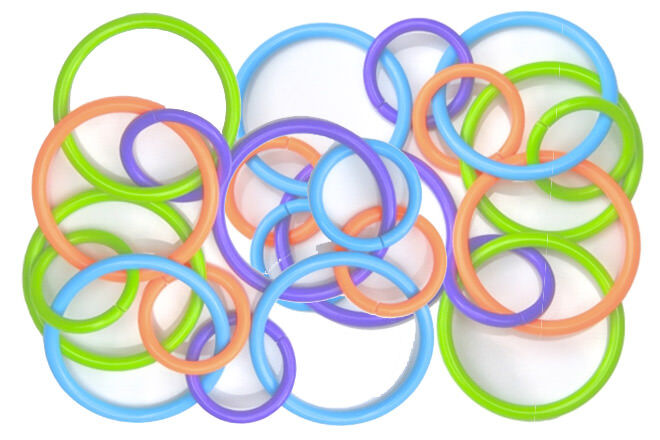 Rings to hang activities from