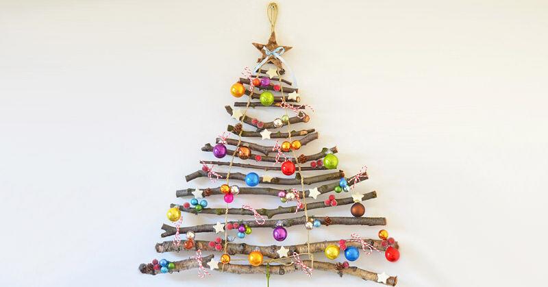 Alternative Christmas Trees.Deck The Halls 19 Fun Alternative Christmas Trees Mum S
