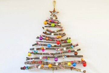 19 fun alternative Christmas trees | Mum's Grapevine