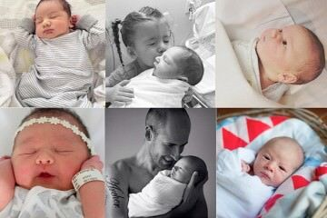 Share your babies first photo and tag #mgvkids