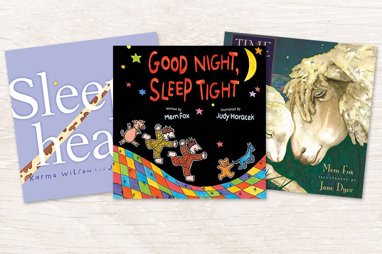 11 Books about going to bed.