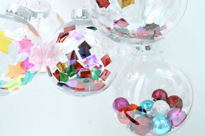 10 DIY Christmas baubles to make with the kids