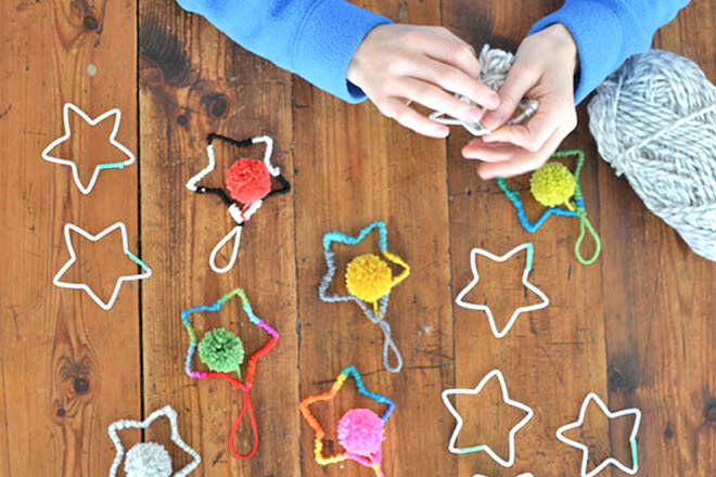 9 Christmas tree decorations for mini makers | Mum's Grapevine