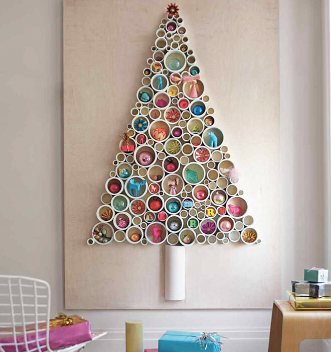 PVC piping alternative Christmas Tree