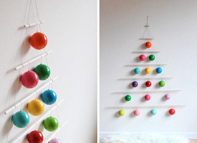Simple idea for an alternative Christmas Tree