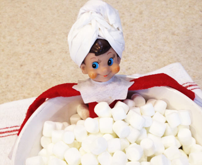 Elf the pictures funny shelf on