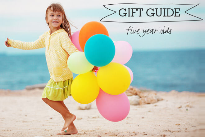 Gift Guide for five year olds