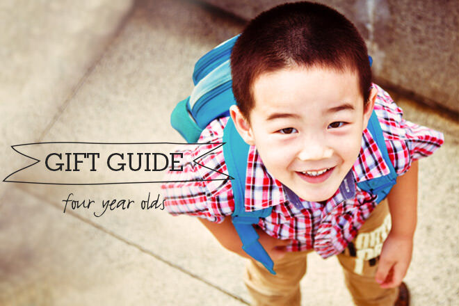 Gift Guide for four year olds