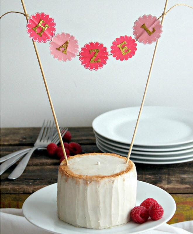 Healthy birthday cake coconut flour