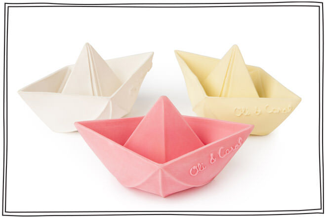 Oli & Carol 3 Origami boats
