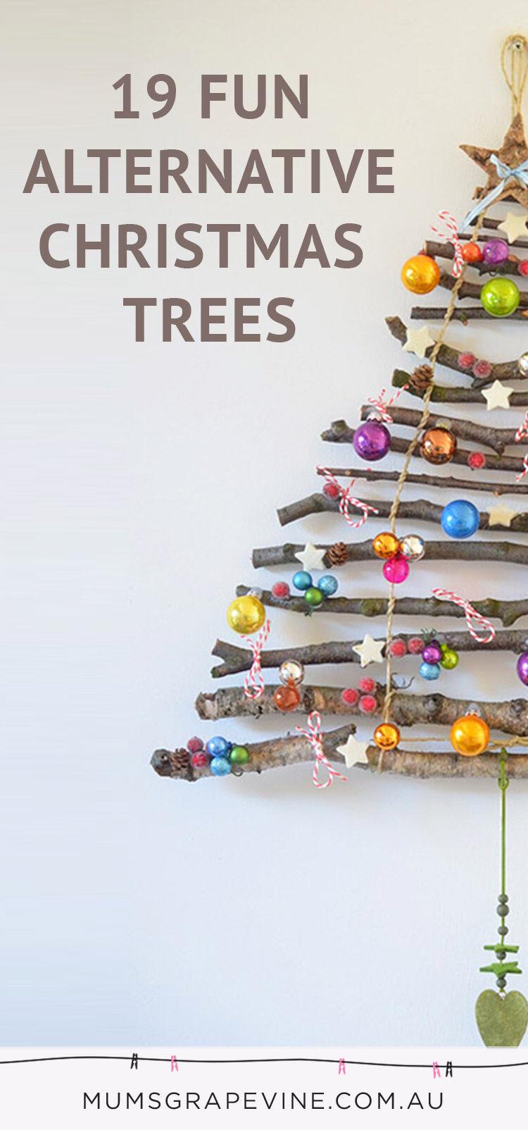 19 Alternative Christmas Trees