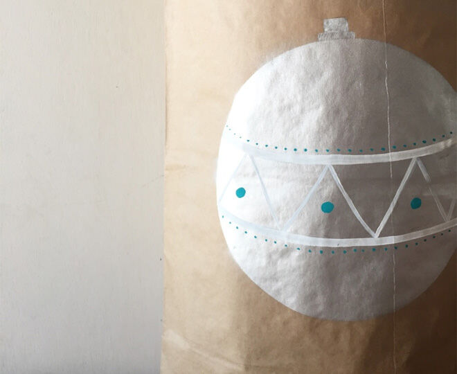 O + Mighty Christmas Bauble Storage Sack