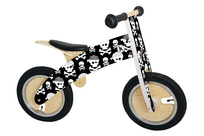 Skull & Bone Kurve Balance Bike