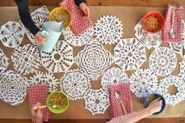 20 snowflake ideas for Christmas | Mum's Grapevine