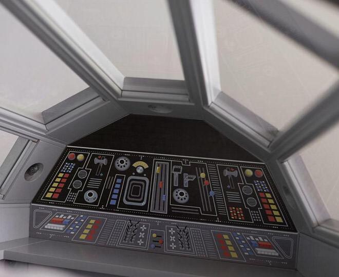 Pottery Barn Kids Star Wars Bed Cockpit