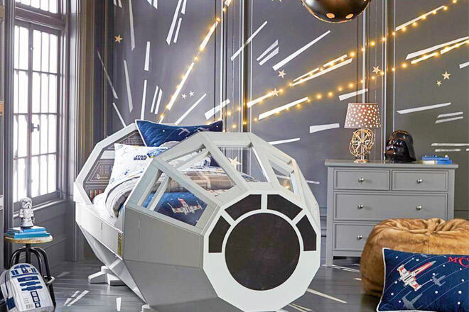 Holy Chewbacca Check Out This Star Wars Bed Mum S