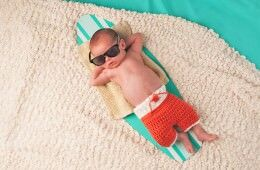 Essentials for summertime babies