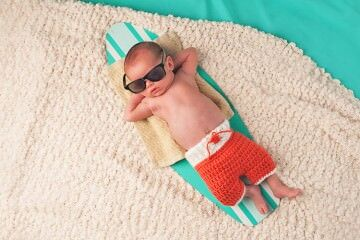 Essentials for summertime babies