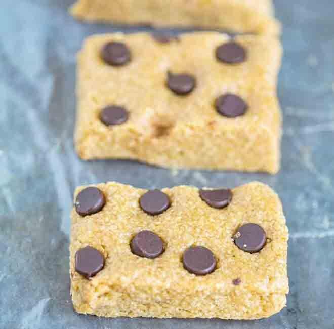 Three ingredient no-bake oatmeal bars