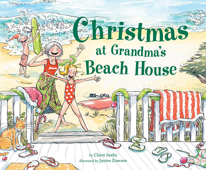 Christmas at Grandma's Beach House - Top Aussie Christmas Books
