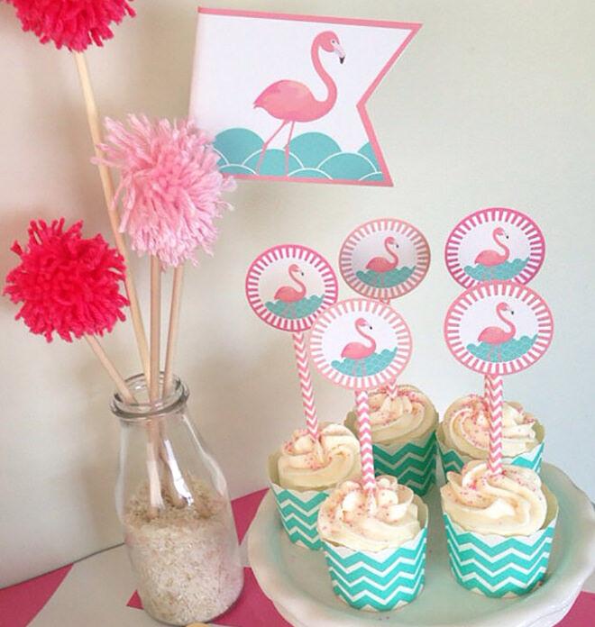 Flamingo Cake Toppers Australia