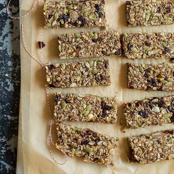 These healthy muesli bars can be kept in freezer for up to 1 month.