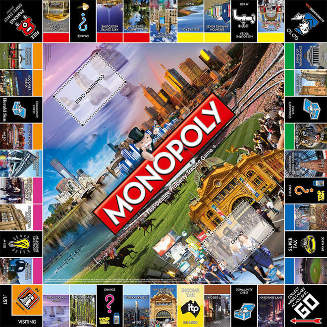 Board Game Monopoly Limited Editions