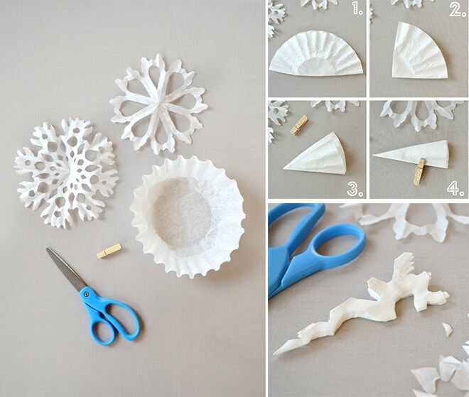 20 Frosty Snowflake Craft Ideas For Christmas Mums Grapevine