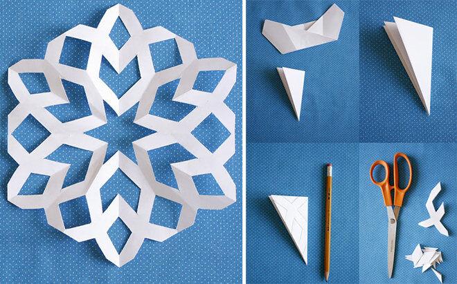 EASY DIY Paper Snowflake