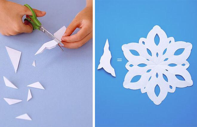 Easy DIY Martha Stewart Paper Snowflake