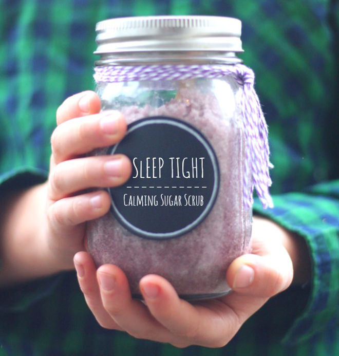Easy DIY Sugar scrub kids can make for end of year teacher gifts