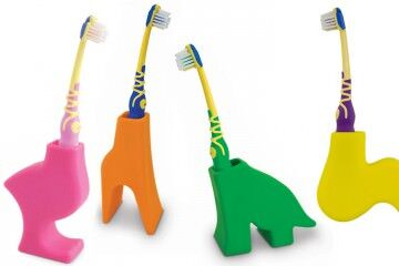 J-Me animal toothbrush holders