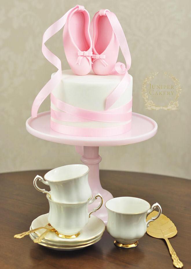 Ballerina Cakes For Your Tiny Dancer Mums Grapevine - Ballet birthday cake