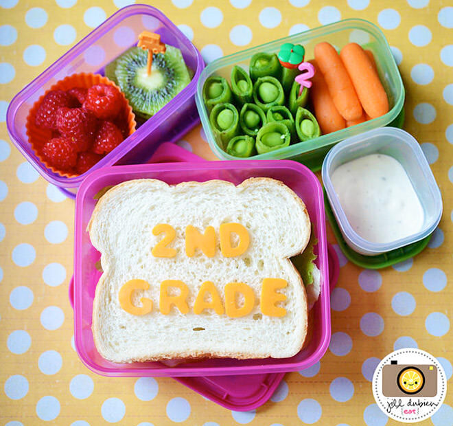 Celebrate going back to school by packing a bento lunch box