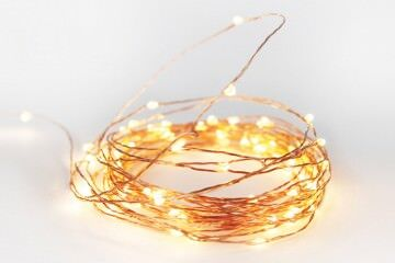 Down to the Woods copper string fairy lights