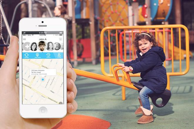hereO GPS watch tracking app