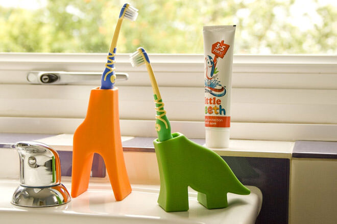 J-Me animal toothbrush grace and diego