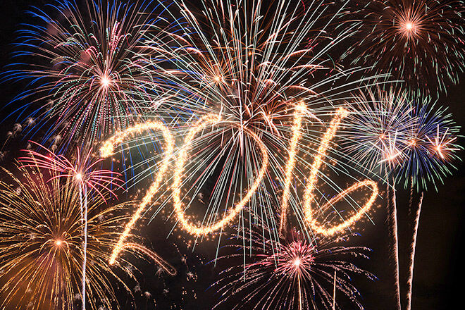 New Years Eve firework events 2015