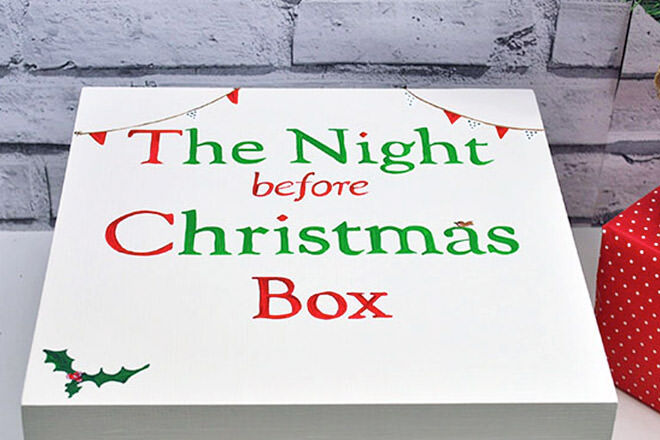 How to make a Christmas Eve box