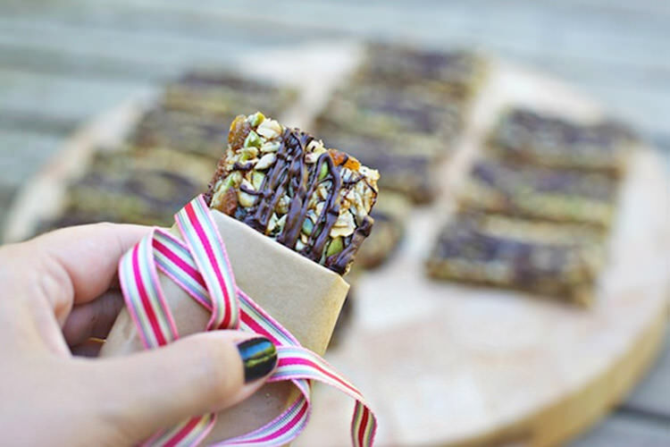 7 no-bake bars to wrap and go