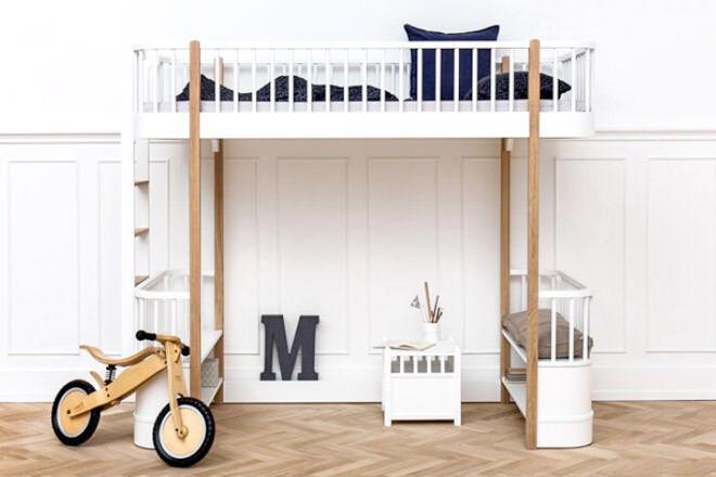 Oliver Furniture Wood Loft Bed