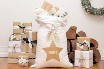 15 fun and festive Santa sacks