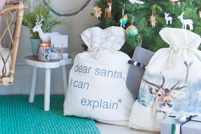 15 fun and festive Santa sacks | Mum's Grapevine