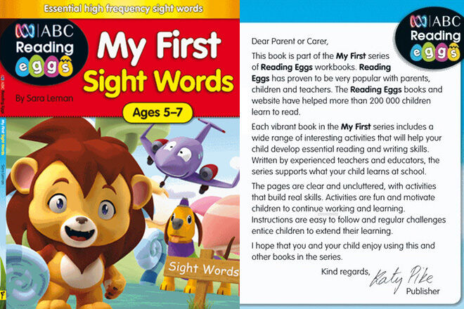 My First Sight Words by Sarah Leman