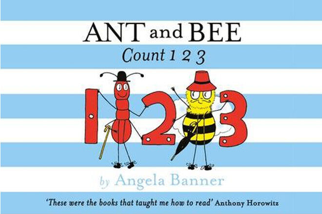 Ant and Bee Count 1, 2, 3 by Angela Banner