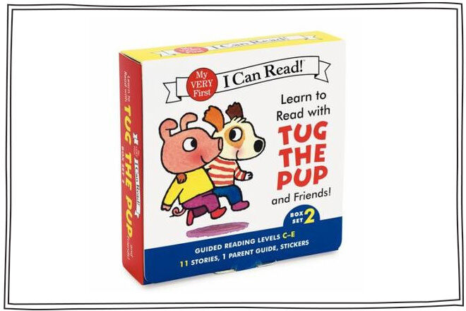 Learn to Read with Tug the Pup by Julie M. Wood