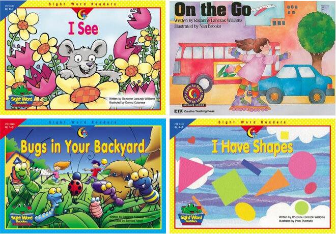 Sight Word books by Rozanne Lanczak