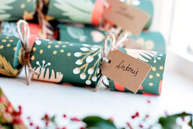 Eleanna Kotsikou Printable Christmas Crackers