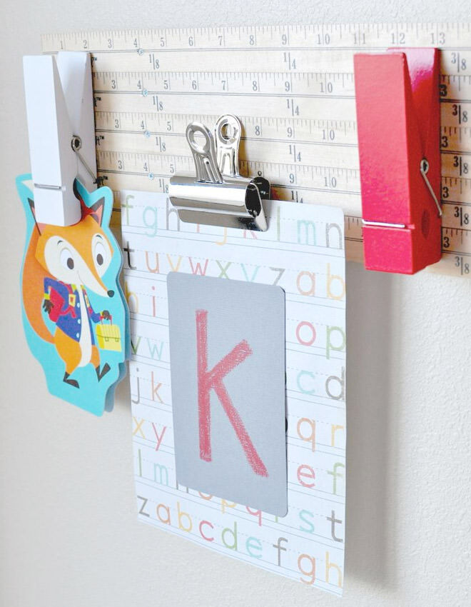 Make an art display board to celebrate the new school year.
